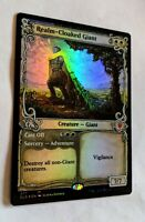 FOIL SHOWCASE Realm-Cloaked Giant Cast Off Eldraine ELD MTG NM FREE SHIPPING