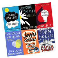 John Green Collection 6 Books Set  Fault in Our Stars,Turtles All the Way Down
