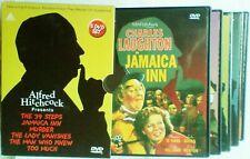 Alfred Hitchcock DVD The 39 steps,Jamaica Inn,Murder,Lady Vanishes,Man Knew Much