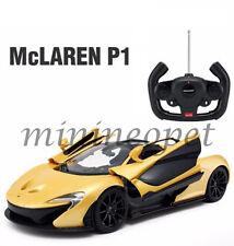RASTAR 75100 R/C RADIO REMOTE CONTROL CAR MCLAREN P1 1/14 YELLOW