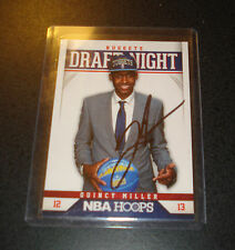 QUINCY MILLER 2012-13 Hoops Draft Night IP AUTO