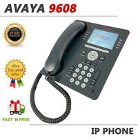 Avaya 9608 Display Business VoIP Phone Charcoal 700480585