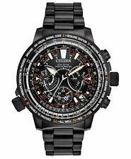 NEW Citizen CC7015-55E Eco-Drive Men's Chrono Promaster Satellite Wave GPS Watch