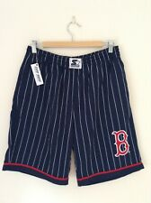 Vintage 1990s Boston Red Sox Classic Pinstripe MLB Baseball Shorts. Rare!