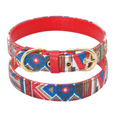 Leather Padded Dog Collar for Small Dogs Fashion Adjustable Chihuahua Collars