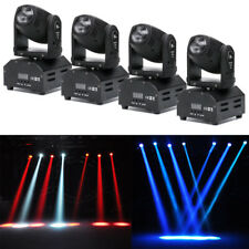 4X 60W RGBW Beam Spot LED Moving Head Stage Light DMX Bar Party DJ Disco Lights