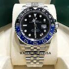 Rolex 126710BLNR GMT-Master II Batman/Batgirl Stainless Black And Blue Watch