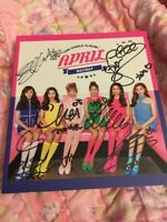 April Mayday All Members Signed Autographed Cd Album Kpop K-pop U.S.A Seller