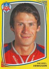 111 MICHAEL HANSSON # SWEDEN HELSINGBORGS.IF STICKER FOTBOLL ALLSVENSKAN 2000