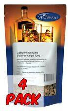Still Spirits Gobblers Bourbon Chips 100g 4 PACK - Homebrew, Liqueuers, Schnapps