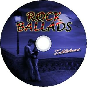 ROCK BALLADS BASS & GUITAR TAB CD TABLATURE SONG BOOK GREATEST HITS BEST OF