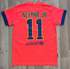 Barcelona Neymar Jr official product 2014-15 season away boys jersey Size S