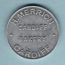 Australia.  BREAD TOKEN. H.Merrion - Cardiff Bakery.. One Loaf.. gEF Much Lustre