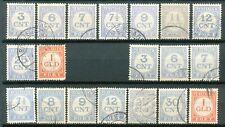 Nederland Port  69 - 79 A + B gebruikt (2)