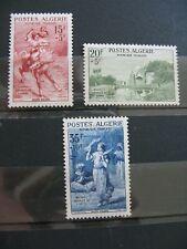 FRANCE neufs  ALGERIE  n° 346 à 348