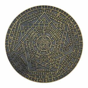 SIGILLUM DEI COIN John Dee Sanction rpg metal token All Rolled Up Campaign Coins