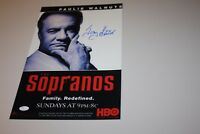"The Sopranos TONY SIRICO ""Paulie Gualtieri"" SIGNED AUTO 11X17 PHOTO POSTER JSA"