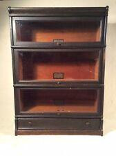 Modular Globe Wernicke Co. 3 Stack Barrister Bookcase - RARE 297 Grade