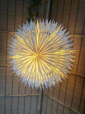 BNIB Aztec hand folded origami paper pendant light shade w switch. Star lantern