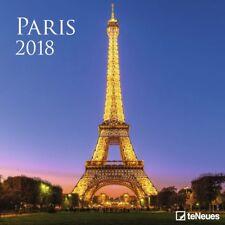 CALENDRIER 2018 - PARIS couleur - 30 x 30 cm