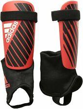 adidas 186451 Kids Soccer Shin Guards Sports Red/Black X CLUB - FREE FAST SHIP