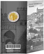 """2 euro Polierte Platte PP Spanien 2021 : Altstadt von Toledo """"Puerta del Sol"""""""