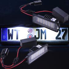 TOP LED Kennzeichenbeleuchtung VW Golf 4 5 6 Passat B6 B7 Lupo Polo 9N 6R [7401]