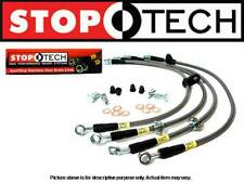Stoptech Stainless Steel Braided FRONT & REAR Brake Lines Kit G35 RWD 03-07 New