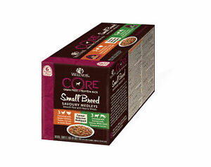 Wellness Core Small Breed Savoury Medley Farmers Selection Wet Dog Food - 6x85g