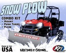 "KYMCO UXV 500/I UXV500 2009-2016  KFI UTV 60"" Snow Plow Combo Kit"