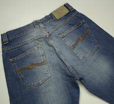 EUC - RRP $379 - Mens Stunning NUDIE 'LOOSE FRANK' Indigo Jeans