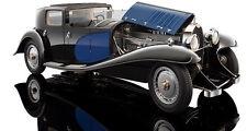 1:18 Bugatti Royale Coupe De Ville 1930 Black/Blue 3293-j4 Bauer models neuf dans sa boîte NEUF