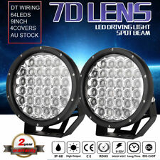 9INCH Cree LED driving light Spotlights 7D lens Round Black offroad 4x4 ATV jeep