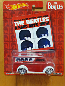 Hot Wheels 2017 Pop Culture THE BEATLES Dairy Delivery (A Hard Day's Night) (*)