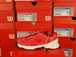Wilson Rush Pro QL Pink Junior Tennis Shoes Sizes 13 Kids and 2.5 Youth