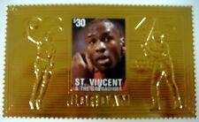 1996 ST VINCENT MICHAEL JORDAN GOLD STAMP UPPER DECK BASKETBALL STAMPS