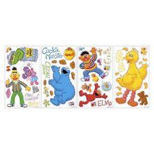 45 Room Mates Sesame Street Peel & Stick Wall Decal Kids Room RMK1384SCS