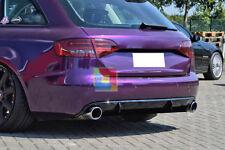 AUDI A4 B8 8K 2007-2011 AVANT BERLINA DIFFUSORE POSTERIORE SOTTO PARAURTI RS4 -1