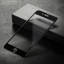 Cubierta Completa De Vidrio Templado para iPhone 8 Protector Film Protector de Pantalla-Negro
