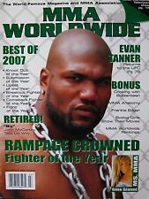 2007 MMA WORLDWIDE MAGAZINE JOHN MACCARTHY MIXED MARTIAL ARTS JIU-JITSU KARATE