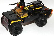 lego original parts - custom batman SUV - batmobil off road version my design