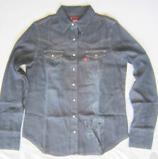 Stunning LEVI'S Western Denim Shirt, Unisex, Made in USA, New, Pearl Buttons