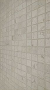 TUMBLED BEIGE MOSAICS Natural Marble Wall Tiles 23x23mm with 48hr DELIVERY