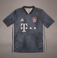 NWOT Bayern Munich Third 2018 2019 Football Soccer Shirt Adidas Youth Size L Kit
