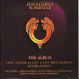 JESUS CHRIST Superstar / The Album Australian Cast CD New  SirH70