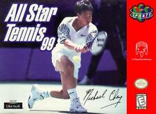 All Star Tennis 99 N64 New Nintendo 64