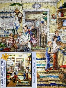 """HOME FROM SCHOOL - 300 LARGE PIECE PUZZLE - BITS & PIECES - SIZE 18"""" X 24"""""""