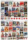 RED CROSS PROPAGANDA POSTERS WWII SECOND WORLD WAR 1/35