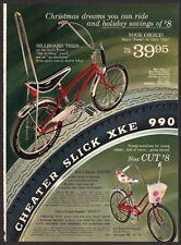 1970 BICYCLE ADVERTISING~BANANA SEAT~CHOPPER STYLE SPRINGER~MUSTANG~PACER ++