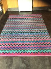 AZTEC DESIGNER, 170 x 120cm.  BRAND NEW, HAND MADE RUG, WOOL...FREE DELIVERY.